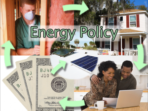 An energy policy that incorporates incentives and loans to retrofit homes is essential to create jobs and save money.