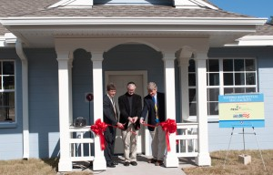 Ribbon cutting of Flexible Residential Test Facility