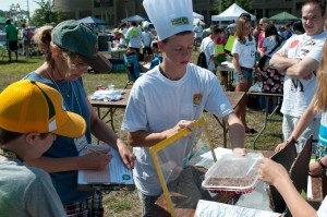 Solar Energy Cookoff teams were judged for their cooker's design.