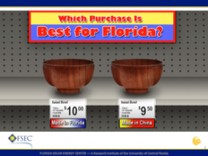 Which purchase is best for Florida?
