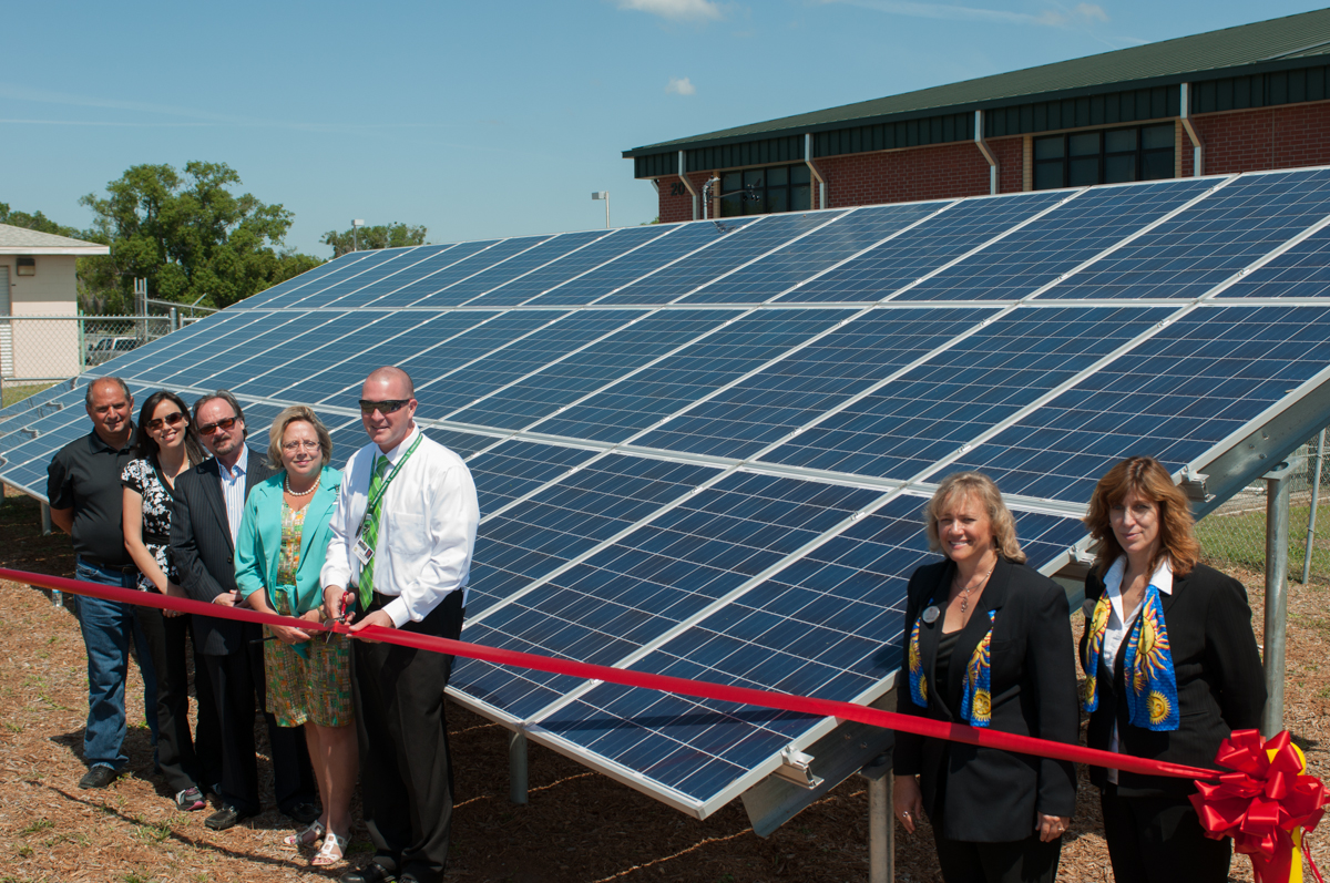 Solar Electric System Provides Emergency Power and Teaching