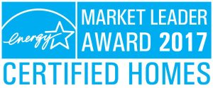 EnergyStar Market Leader Award 2017 Certified Homes logo