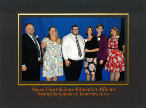 Space Coast Science Education Alliance Exemplary Science Teachers 2019