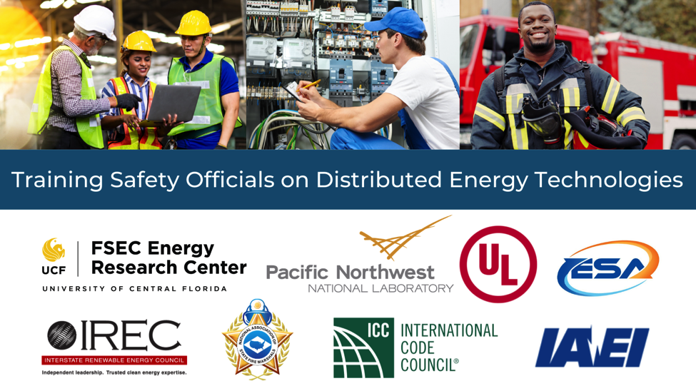 Training Safety Officials on Distributed Energy Technologies
