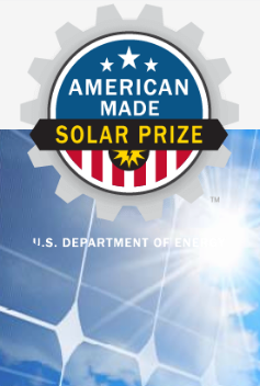 American Made Solar Prize U.S. Department of Energy logo