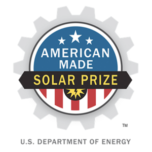 American Made SOLAR PRIZE. U.S. Department of Energy.